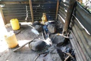 The Water Project: Ikoli Community, Odongo Spring -  Kitchen Inside
