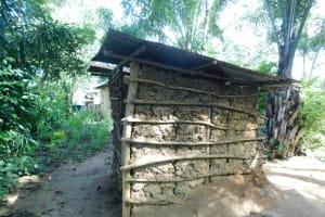 The Water Project: Ikoli Community, Odongo Spring -  Latrine