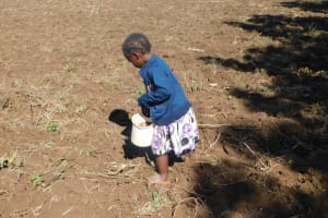 The Water Project: Ikoli Community, Odongo Spring -  So Responsible At A Very Tender Age