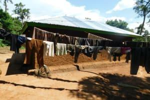 The Water Project: Mushikulu B Community, Olando Spring -  Clothesline