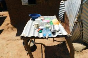 The Water Project: Mushikulu B Community, Olando Spring -  Dishrack
