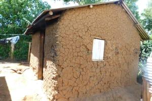 The Water Project: Mushikulu B Community, Olando Spring -  Kitchen Outside