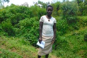 The Water Project: Mushikulu B Community, Olando Spring -  Millicent Mukoya