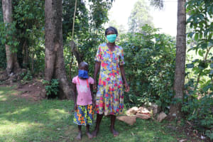 The Water Project: Sharambatsa Community, Mihako Spring -  Anne With Her Daughter Terry
