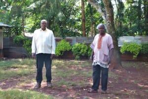 The Water Project: Irumbi Community, Okang'a Spring -  Pius Atsango Ligami And Christopher Okanga