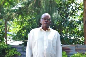The Water Project: Irumbi Community, Okang'a Spring -  Sir Pius Atsango Ligami