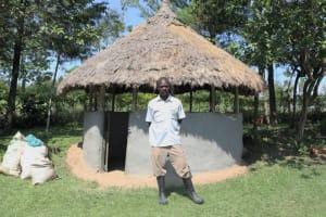 The Water Project: Bung'onye Community, Shilangu Spring -  Next To His Gazibo