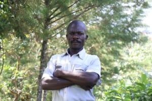 The Water Project: Bung'onye Community, Shilangu Spring -  Sir Wilson Shilungu Dex