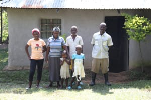 The Water Project: Bung'onye Community, Shilangu Spring -  The Dex Family At Home
