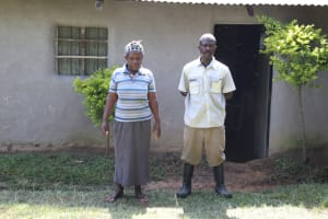 The Water Project: Bung'onye Community, Shilangu Spring -  Wilson And His Wife