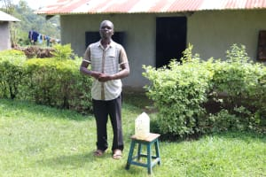 The Water Project: Bukhaywa Community, Shidero Spring -  Next To The Handwashing Station At His House