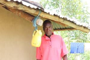 The Water Project: Handidi Community, Kadasia Spring -  Next To The Handwashing Station