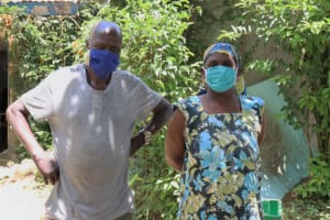 The Water Project: Shitoto Community, Laurence Spring -  Mask Up