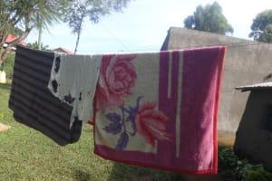 The Water Project: Isanjiro Community, Musambai Spring -  Clothesline