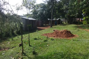 The Water Project: Isanjiro Community, Musambai Spring -  Home Compound