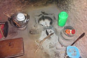 The Water Project: Isanjiro Community, Musambai Spring -  Inside Kitchen