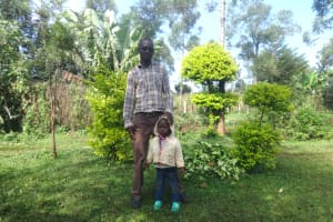 The Water Project: Isanjiro Community, Musambai Spring -  Mr Moses Juma And Kevin
