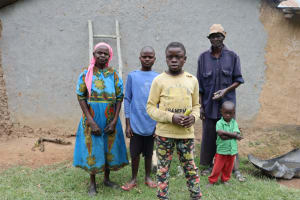 The Water Project: Shamoni Community, Laban Ang'ata Spring -  Angata Family