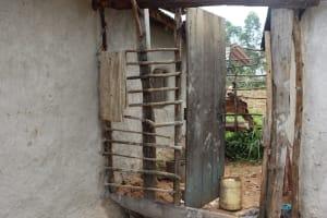 The Water Project: Shamoni Community, Laban Ang'ata Spring -  Animal Pen