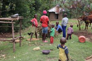 The Water Project: Shamoni Community, Laban Ang'ata Spring -  Children Playing