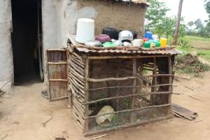 The Water Project: Shamoni Community, Laban Ang'ata Spring -  Dishrack
