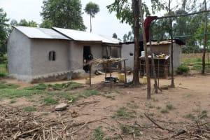 The Water Project: Shamoni Community, Laban Ang'ata Spring -  Homestead