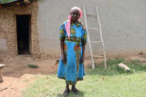 The Water Project: Shamoni Community, Laban Ang'ata Spring -  Mrs Angata