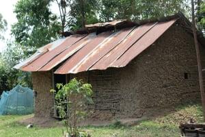 The Water Project: Shamoni Community, Laban Ang'ata Spring -  House