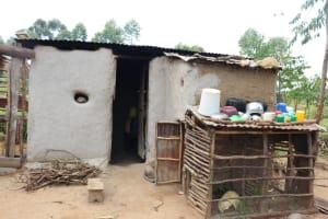 The Water Project: Shamoni Community, Laban Ang'ata Spring -  Kitchen