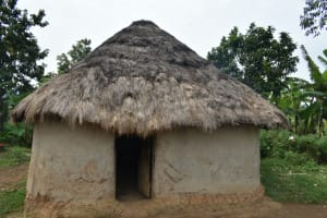The Water Project: Malekha Central Community, Misiko Spring -  Outside Kitchen