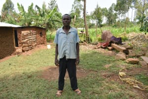 The Water Project: Malekha Central Community, Misiko Spring -  Titus Luvonga