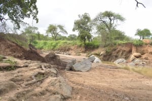 The Water Project: Mbitini Community -  Dam Construction Site