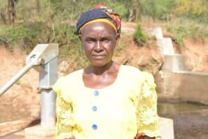 The Water Project: Mbitini Community -  Elizabeth Mutwa