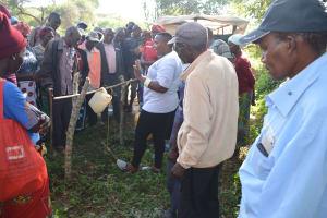 The Water Project: Mbitini Community -  Handwashing Demonstration