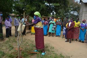 The Water Project: Nduumoni Community -  Handwashing Demonstration
