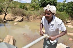 The Water Project: Nduumoni Community A -  Miriam Mwezwa