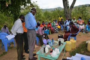 The Water Project: Nduumoni Community -  Wash Training