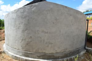 The Water Project: Kimuuni Secondary School -  Complete Tank Walls
