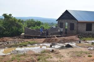 The Water Project: Kimuuni Secondary School -  Construction