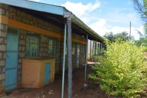 The Water Project: Kimuuni Secondary School -  Guttering