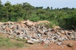 The Water Project: Kimuuni Secondary School -  Rocks For Construction