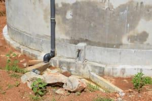 The Water Project: Kimuuni Secondary School -  Tap On New Tank