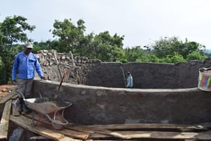 The Water Project: Kimuuni Secondary School -  Wall Construction