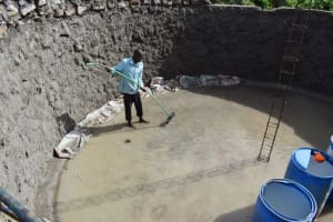The Water Project: Kimuuni Secondary School -  Flatening Foundation