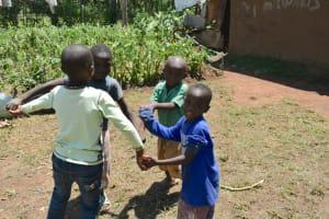 The Water Project: Shamoni Community, Shatuma Spring -  Children Playing