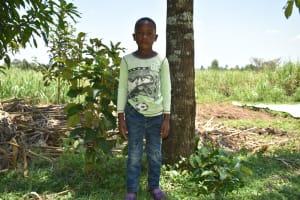The Water Project: Shamoni Community, Shatuma Spring -  Francis