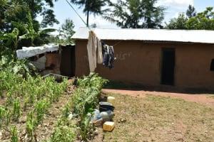 The Water Project: Shamoni Community, Shatuma Spring -  Home Compound