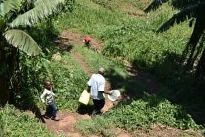 The Water Project: Shamoni Community, Shatuma Spring -  Walking To The Spring