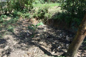 The Water Project: Shianda Community, Akhonya Spring -  Compost Pit