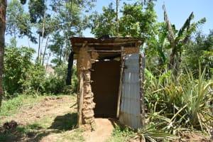 The Water Project: Shianda Community, Akhonya Spring -  Toilet